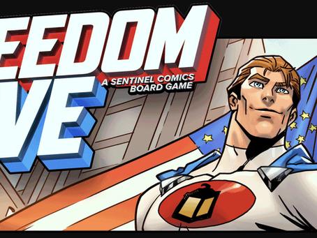 Freedom Five: A Sentinel Comics Board Game is live