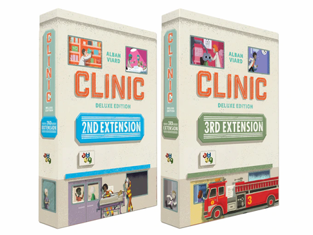 Two new expansions for Clinic: Deluxe Edition are live