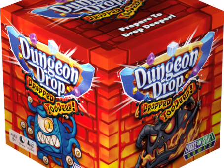 Dungeon Drop: Dropped Too Deep is live (Drop 'em like they're hot)
