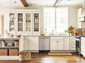 Bring Summer Inside with the help of The Kitchen Works and MasterBrand Cabinets