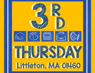 Visit the Littleton Lumber booth at the town of Littleton's 3rd Thursday!