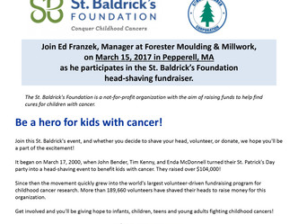 Join our St. Baldrick's Head Shaving Fundraiser to Help Fight Childhood Cancer