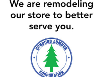 Concord Lumber Remodel - Update
