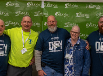Thank you for supporting our St. Baldrick's Team!