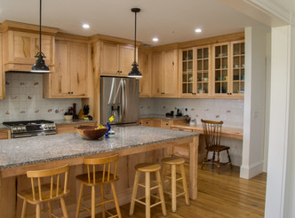 Forester Moulding & Millwork Created Custom Kitchen Cabinets with a Unique Story