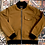 Thumbnail: Tan Canvas 'Doberman' Bomber Jacket
