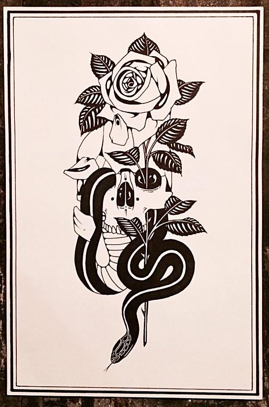 SwiftDeathClub Traditional Tattoo