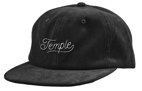 Temple Cursive Corduroy Hat