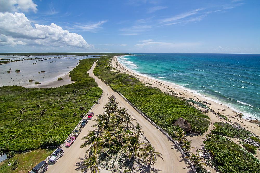 Karibikstrand auf Cozueml