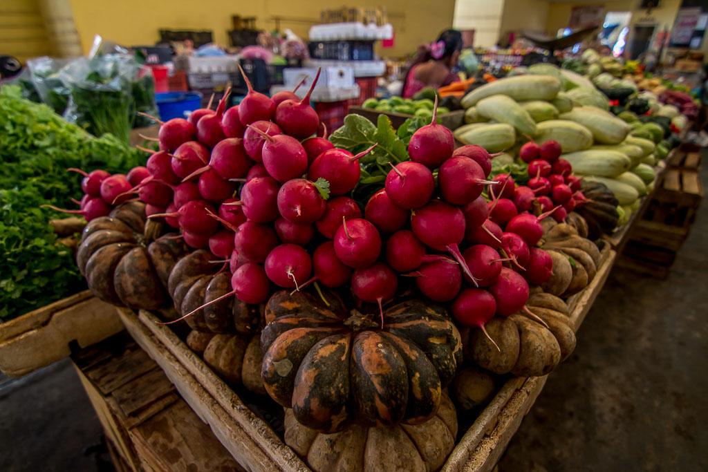 Obs und Gemüse Markt in Valladolid