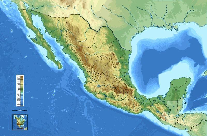 Gebirge in Mexiko
