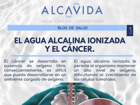 EL AGUA ALCALINA IONIZADA Y EL CÁNCER.