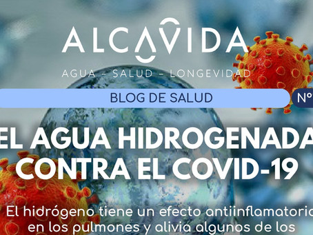 El Agua Hidrogenada contra el COVID-19