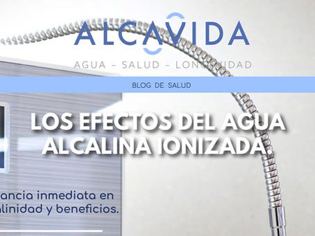 Los efectos del agua alcalina ionizada