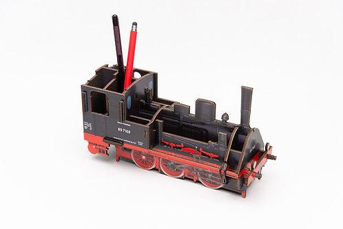 Stifteköcher Lokomotive