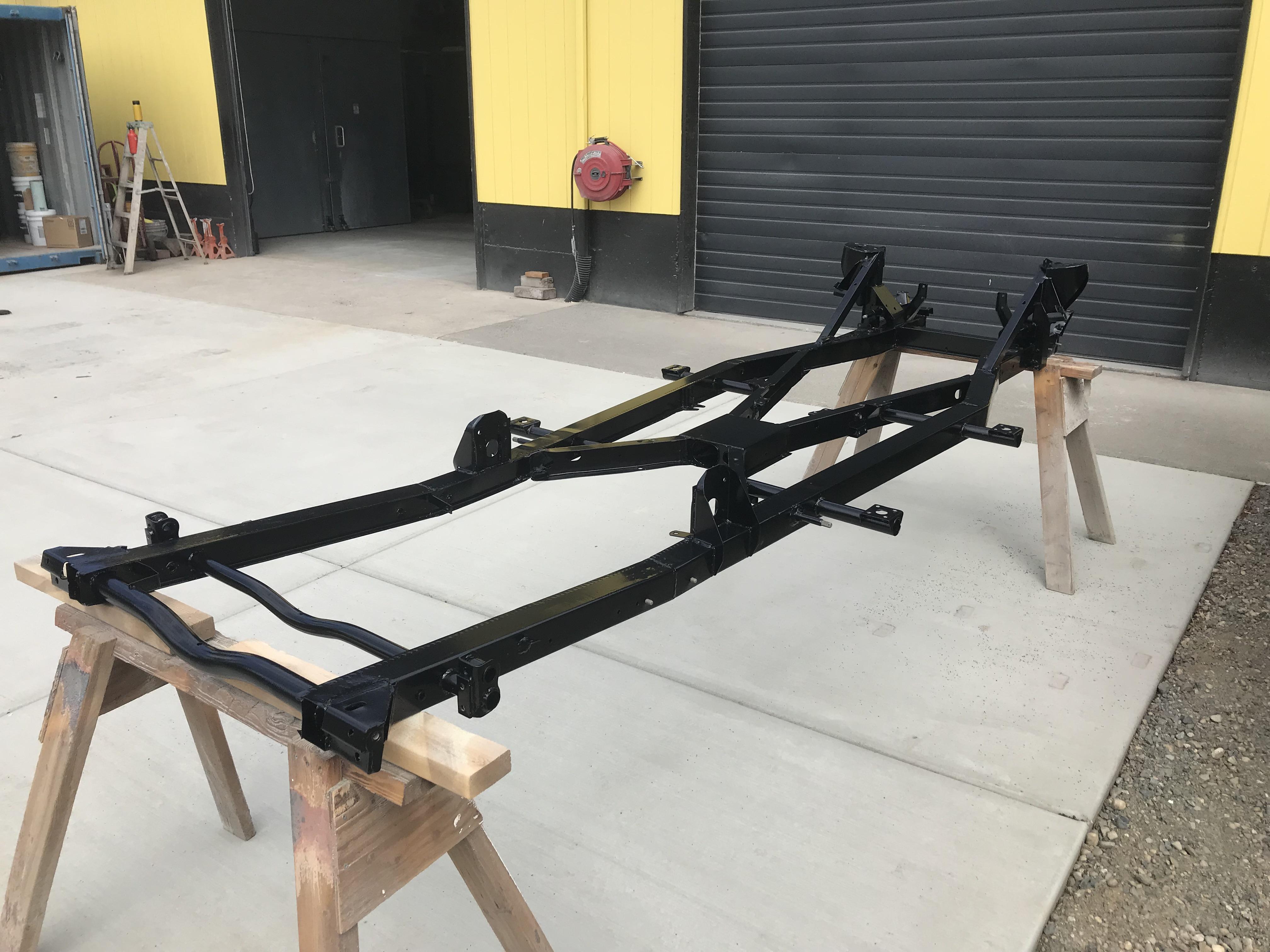 Triumph car frame