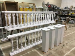 Victorian Hand Rails Finished