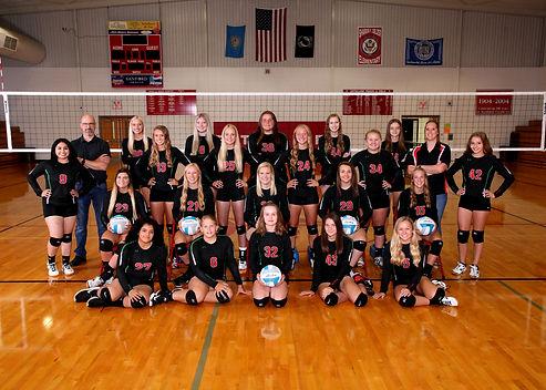 2019 Estelline Hendricks Varsity Volleyb