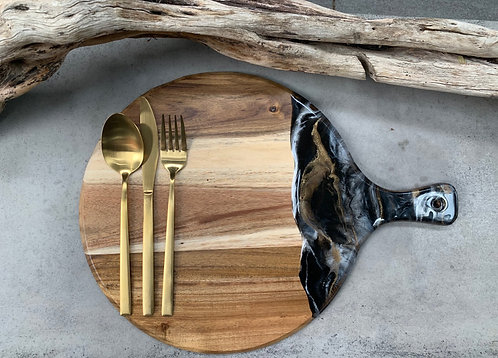 Resin Art Cheese Boards - Round