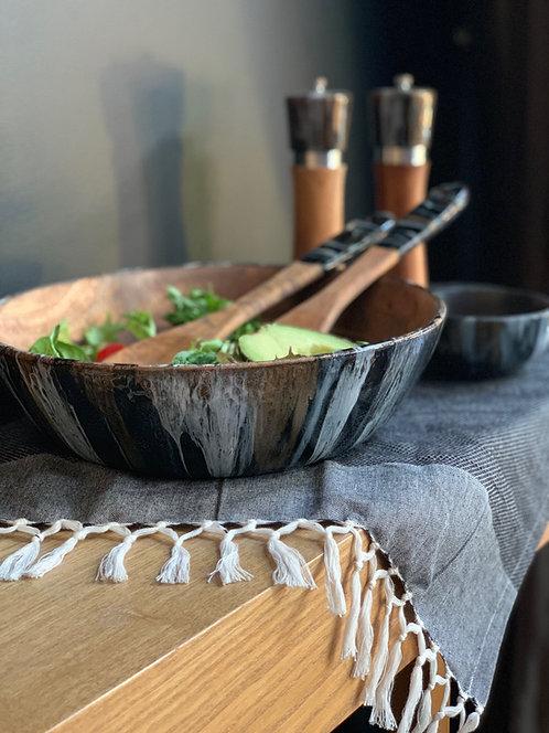 Resin Art - Large Salad Bowl