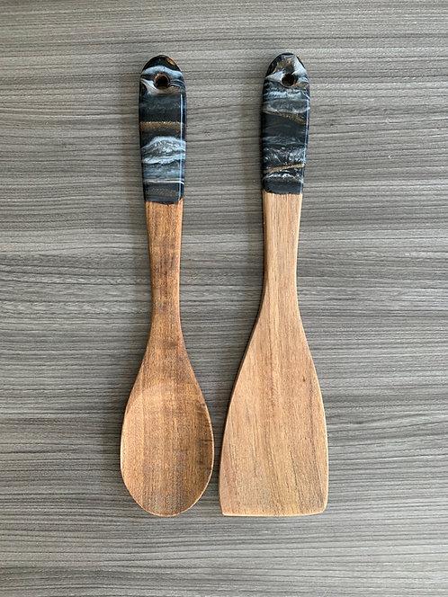 Resin Art Spoon & Turner