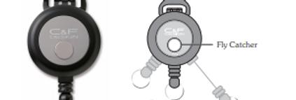 C&F Design Flex Pin-On Reel Retractor