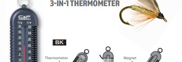 C&F Design 3-in-1 Thermometer