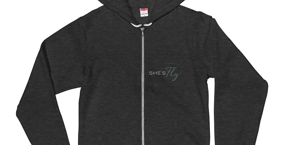 She's Fly Unisex Hoodie