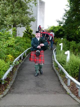 House for an Art Lover, Glasgow. Royal Stewart No 2 uniform