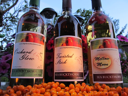 Wine - Not sold through online store. Twisted Stick, Mellow Moon or Orchard Glow