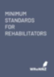 Minimum Standards for Rehabilitators