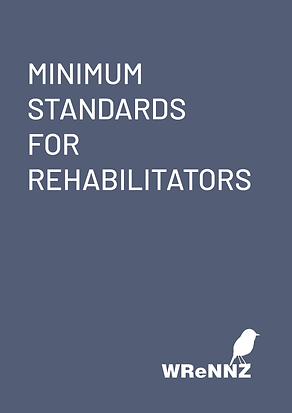 Minimum Standards for Rehabilitators