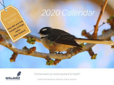 2020 Wildlife Calendars