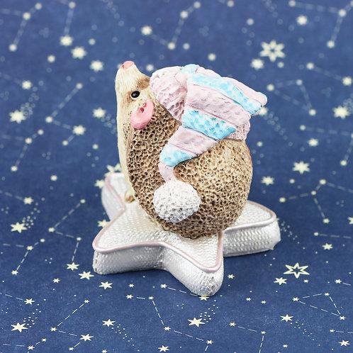 Twinkle Twinkle hedgehog ornament