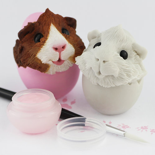 Guinea Pig Ornament - Paint your own