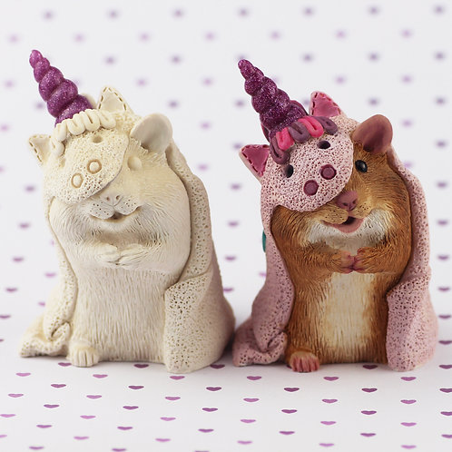 Paint your own - Hamster Unicorn