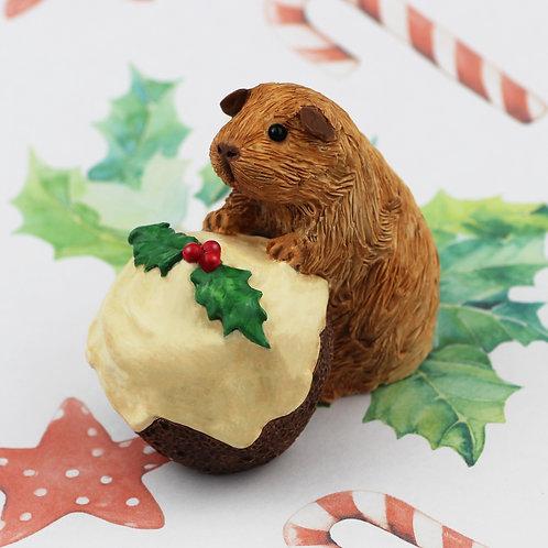 Brandy. Christmas Guinea Pig