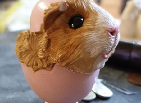 Guinea Pig in Easter Egg