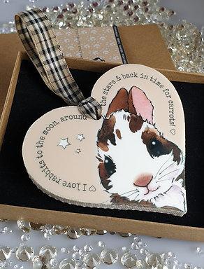 Rabbit Heart Hanger