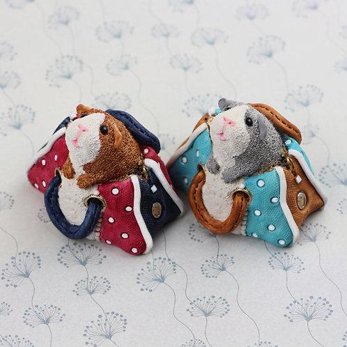 Penny and Primrose guinea pig figurine