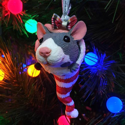 Pet Rat Christmas Tree Ornament