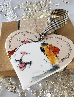 Guinea Pig Heart Hanger