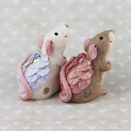 Pet Rat Ornament - Angelina