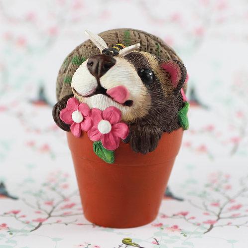 Flower the Ferret Ornament