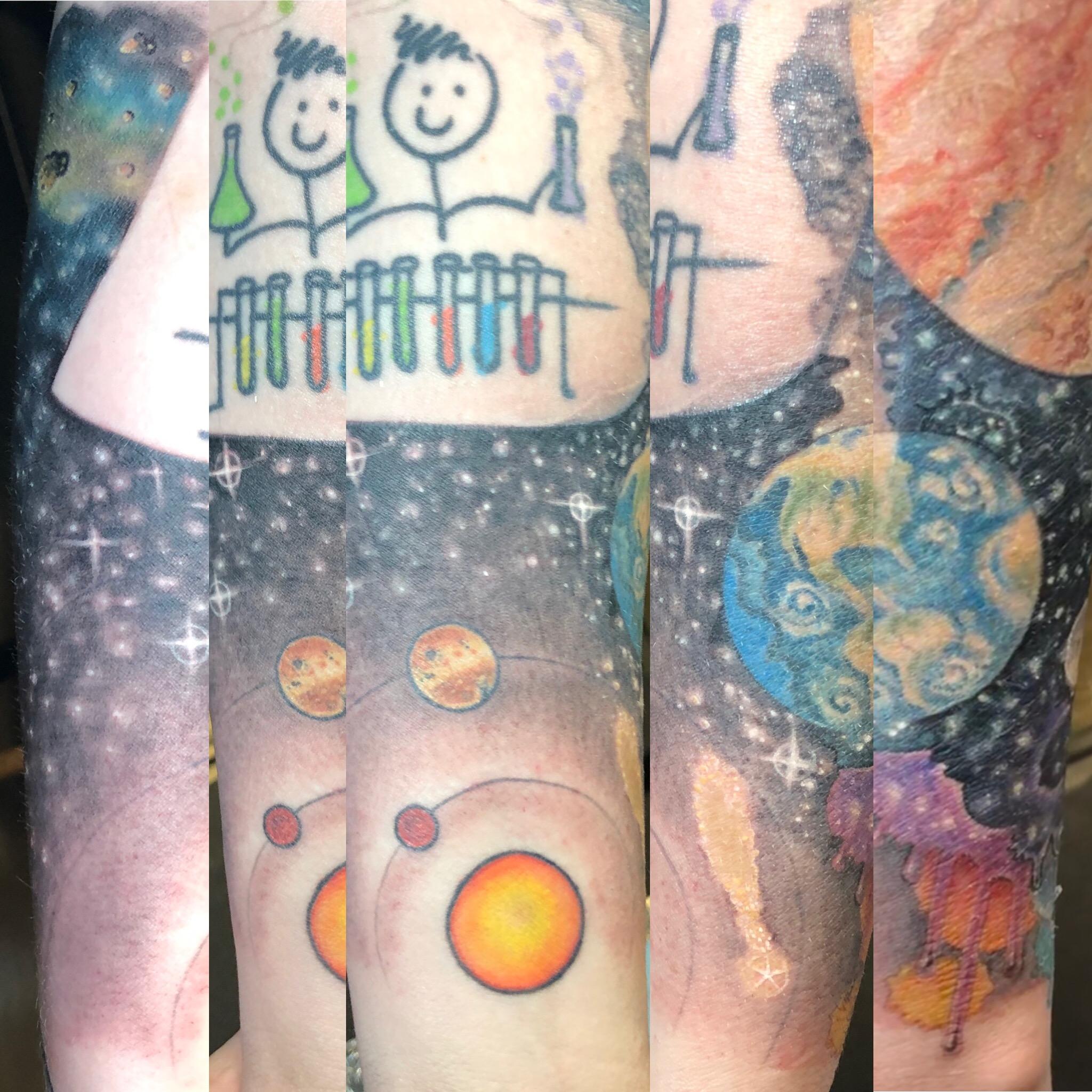 Space Sleeve detail
