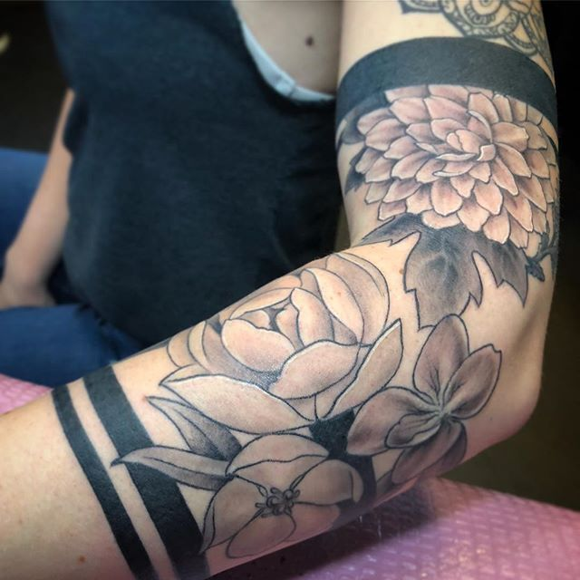 Flowers and Bands