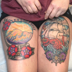 Thigh Pieces