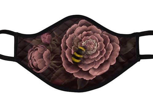 Bee and Peony Mask