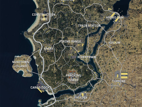 The Call of Duty: Black Ops 4 - Blackout map has been revealed!