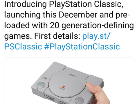 PlayStation Classic Announced!